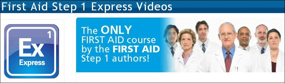 USMLE-Rx – First Aid Step 1 Express Videos 2013 » Medical Books Free
