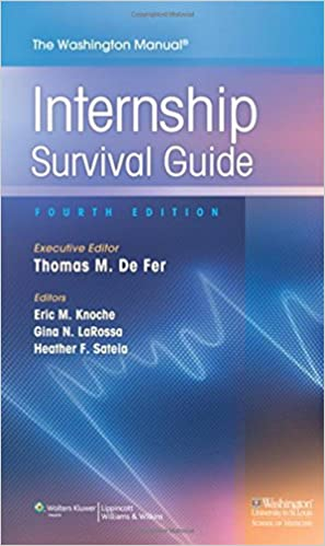 Internal medicine intern survival guide pdf