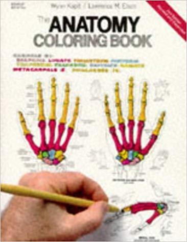 The Anatomy Coloring Book Medical Books Free